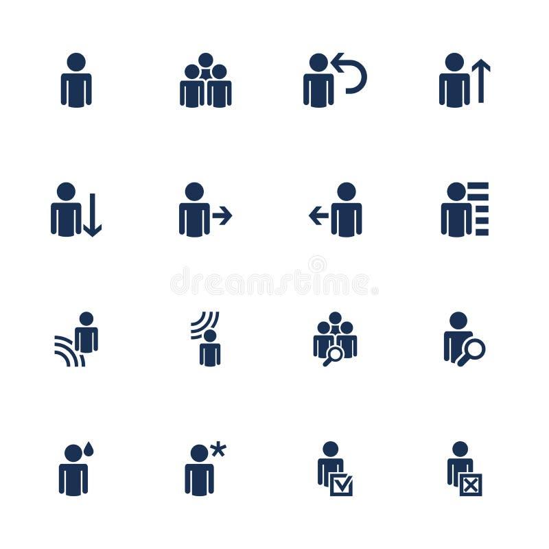 Graphismes sociaux illustration libre de droits