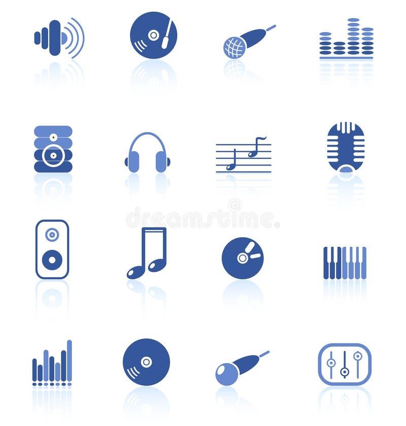 Graphismes sonores illustration libre de droits