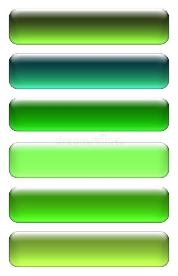 Graphismes verts illustration stock