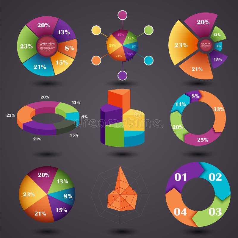 graphs διανυσματική απεικόνιση
