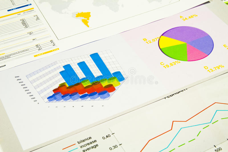 Download Graphs And Charts Royalty Free Stock Photography - Image: 24842157