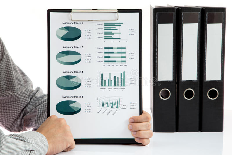 Download Graphs and charts analyzed stock image. Image of financial - 35110239