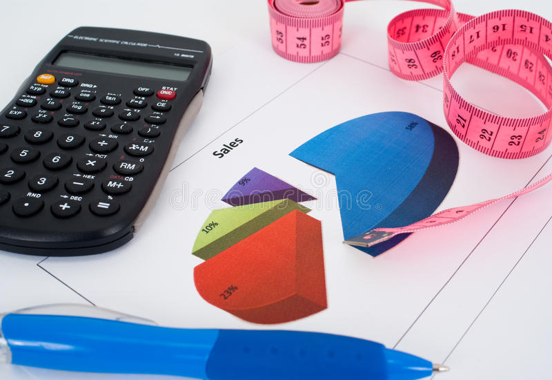 Download Graphs, Charts, Business Table Stock Image - Image: 22990449