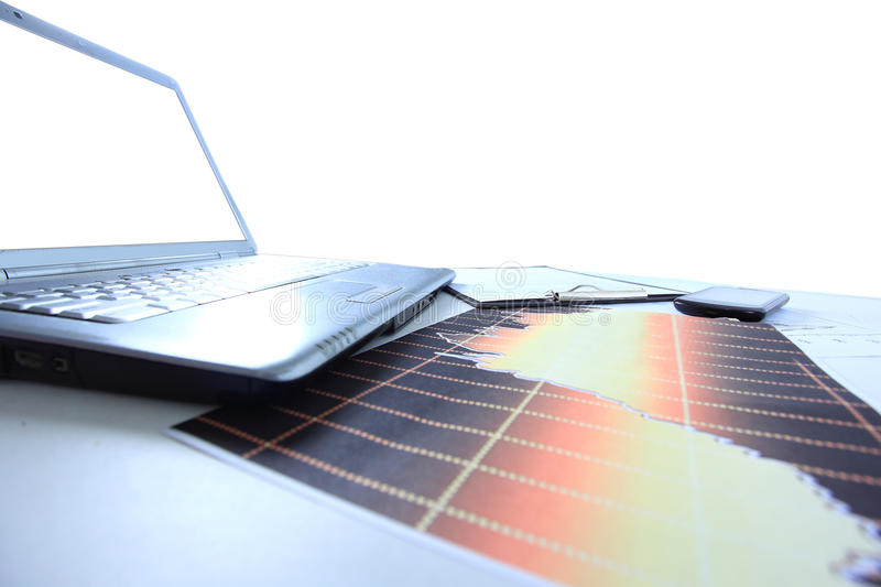 Download Graphs, Charts, Business Table Stock Image - Image: 33080617