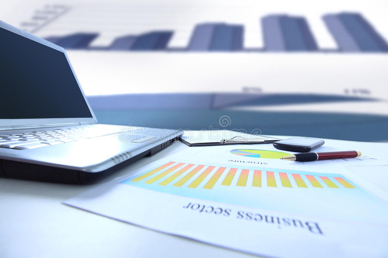 Download Graphs, Charts, Business Table. Stock Photo - Image: 34513822
