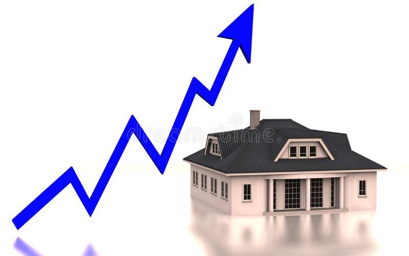 Graphs property royalty free illustration