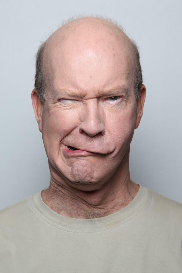 Grappig gezicht stock afbeelding