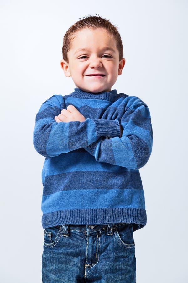 Grappig Little Boy royalty-vrije stock fotografie