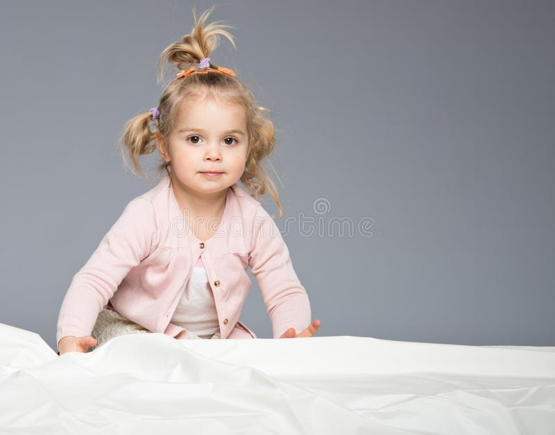 Grappig meisje stock foto