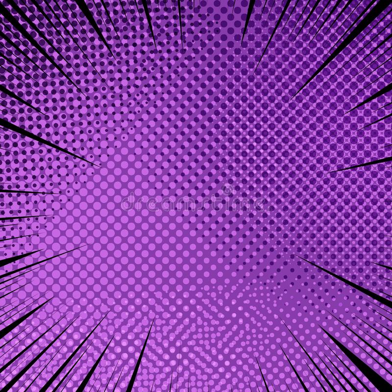 Grappige abstracte purpere elegante achtergrond vector illustratie