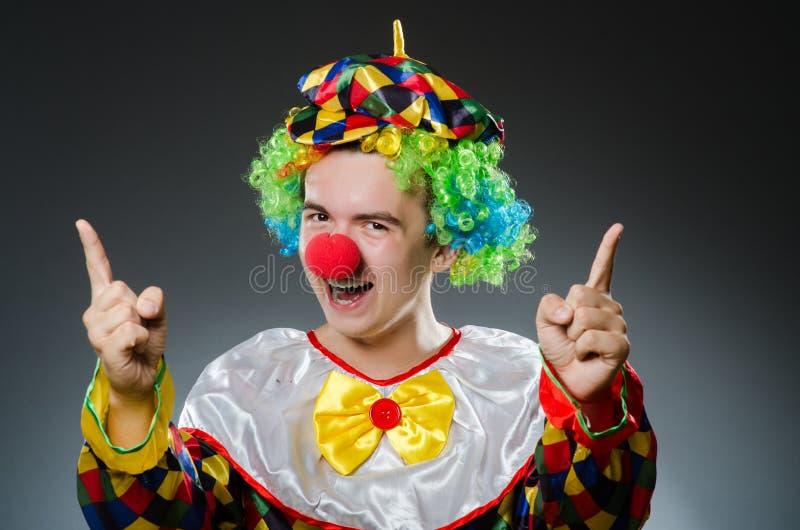 Grappige Clown stock afbeelding