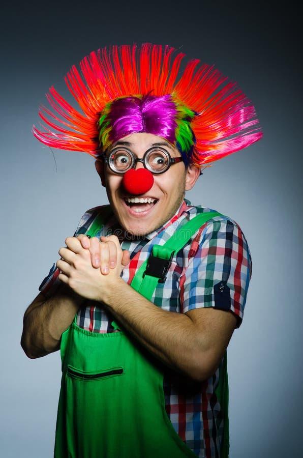 Grappige Clown stock fotografie