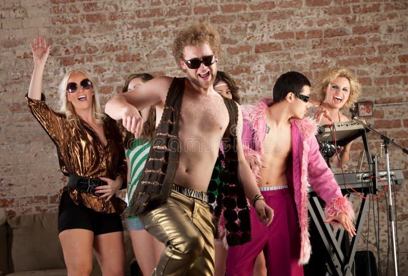 Grappige Danser stock foto's
