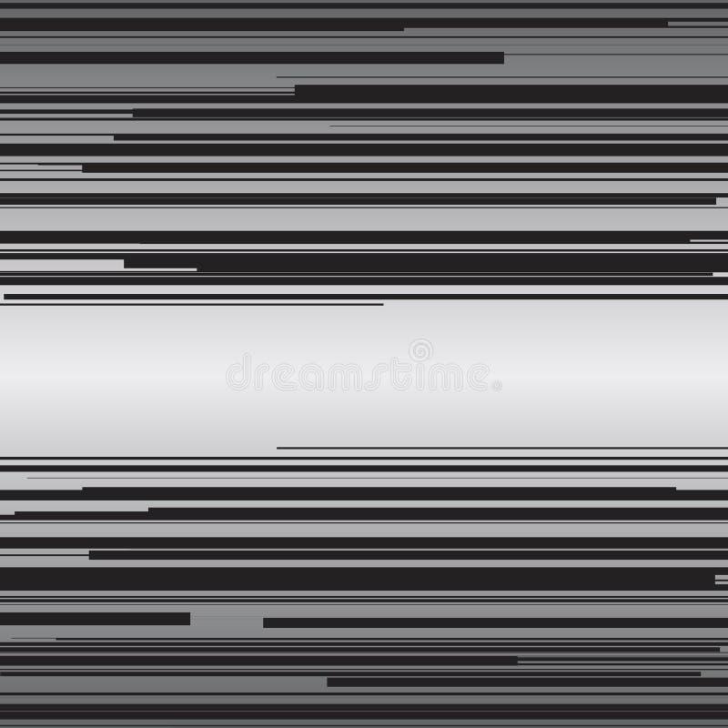 Grappige de horizontale lijnenachtergrond van de boeksnelheid vector illustratie