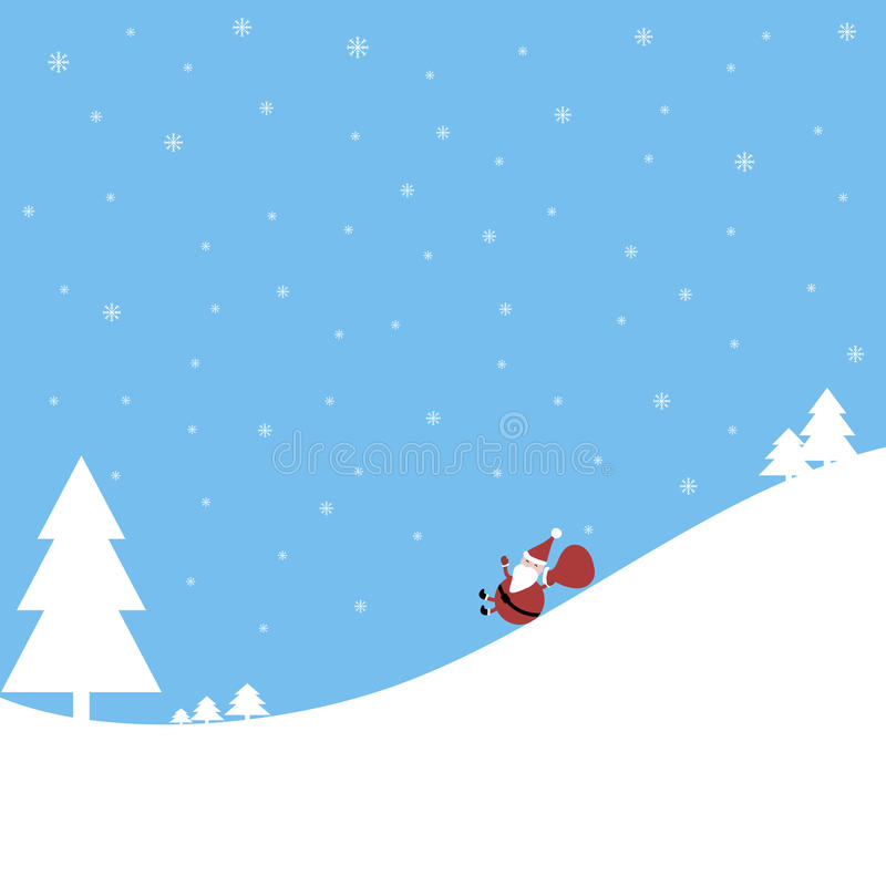 Grappige de Kerstman stock fotografie