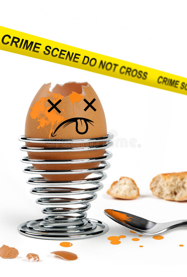 Grappige eieren stock fotografie
