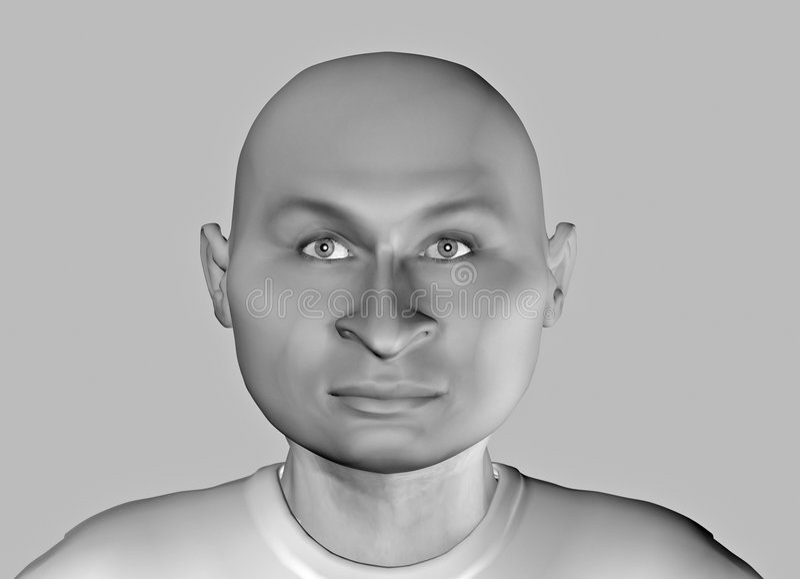 Grappige gezicht-9 vector illustratie