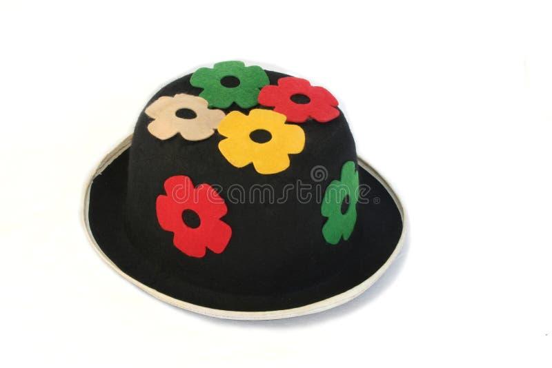 Grappige hoed stock afbeelding