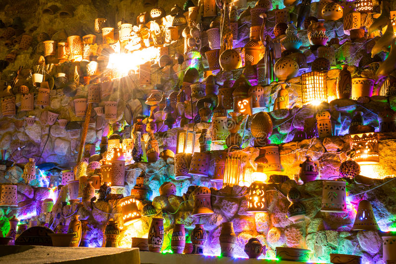Grappige lantaarns stock foto's