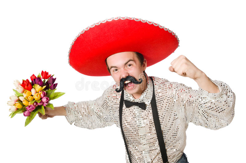Grappige Mexicaan stock foto