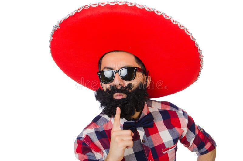 Grappige Mexicaan stock fotografie