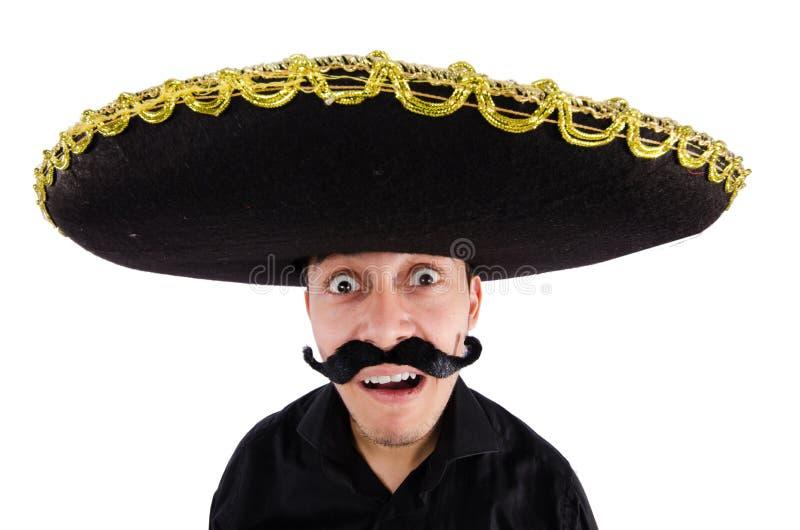 Grappige Mexicaan royalty-vrije stock afbeeldingen