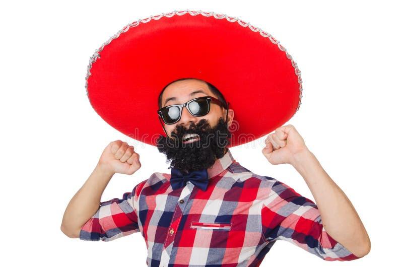 Grappige Mexicaan royalty-vrije stock fotografie
