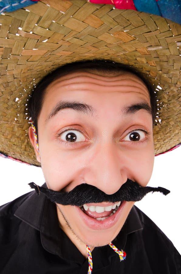 Grappige Mexicaan royalty-vrije stock foto