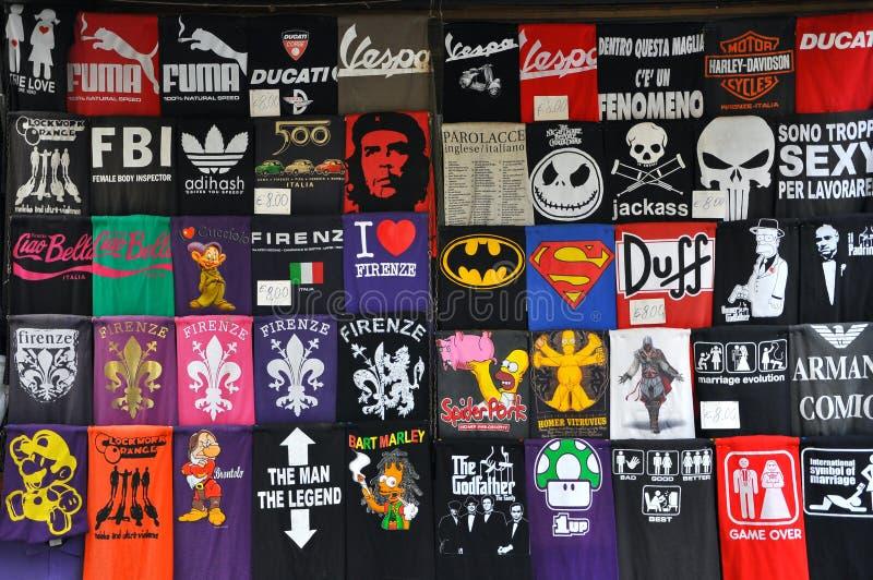 Grappige T-shirts vector illustratie