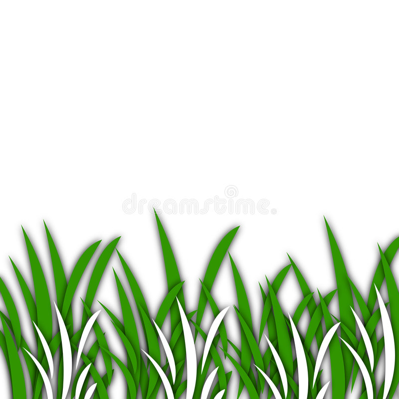 Gras [01] stock illustratie