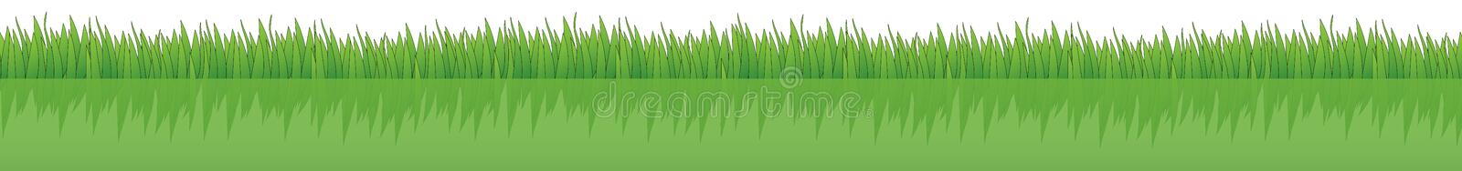 Gras stock illustratie