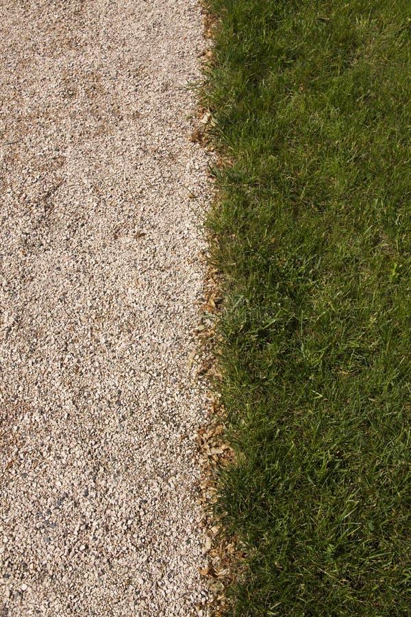 Gras en Steen stock afbeelding