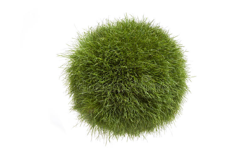 Gras-Kugel stockfotografie