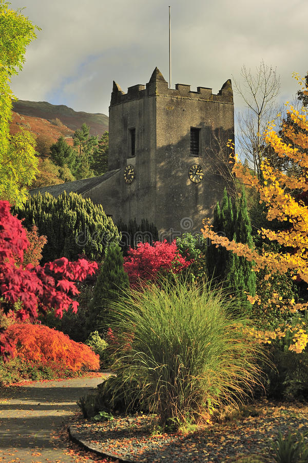 Free Grasmere Church, St Oswalds, Cumbria Stock Image - 30390621