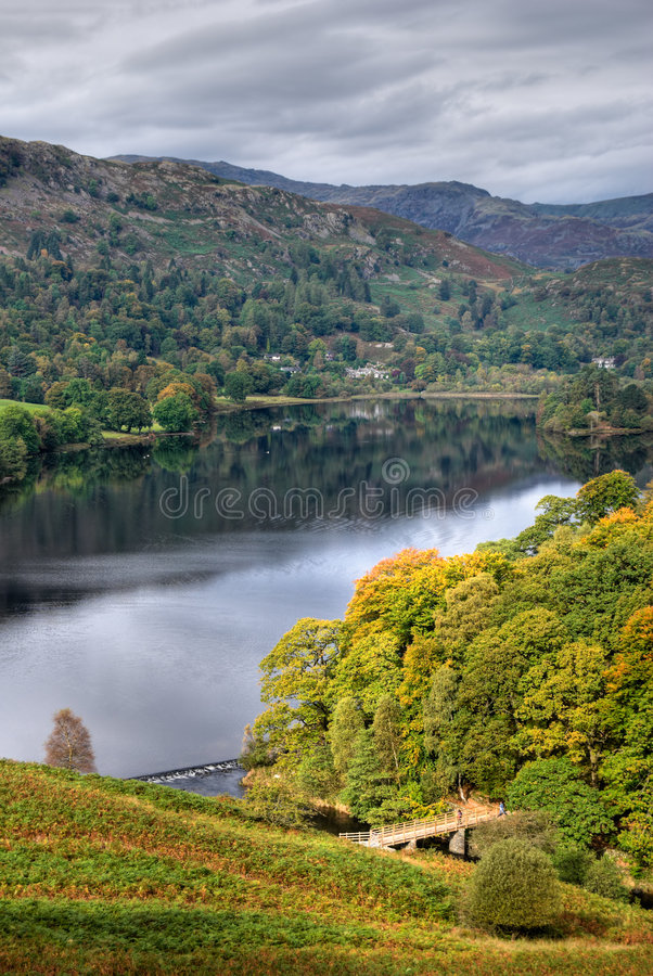 Grasmere In Early Autumn Royalty Free Stock Image