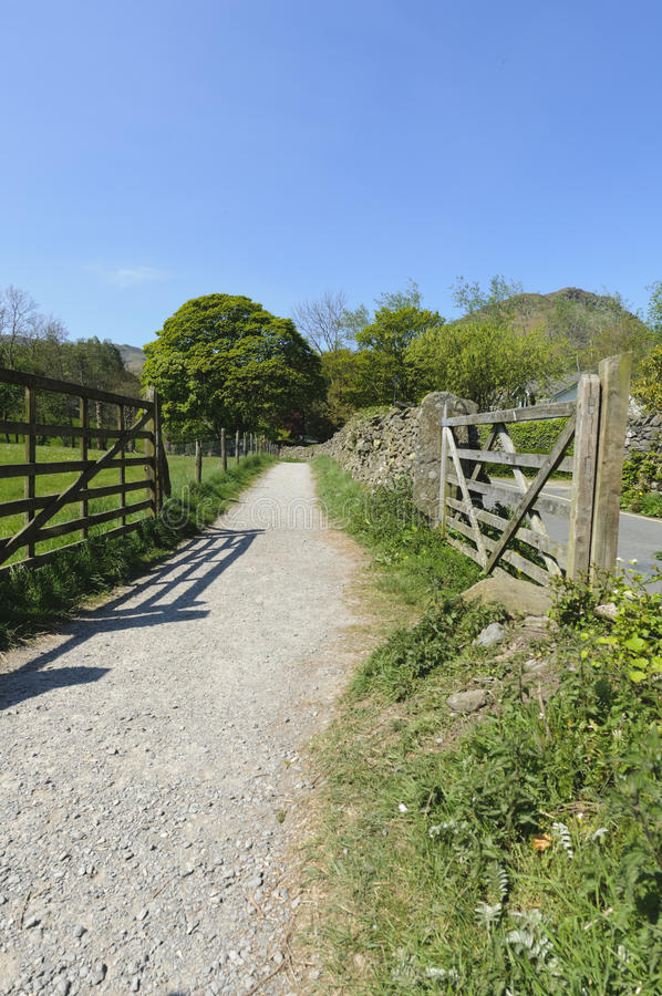 Grasmere Footpath Stock Images