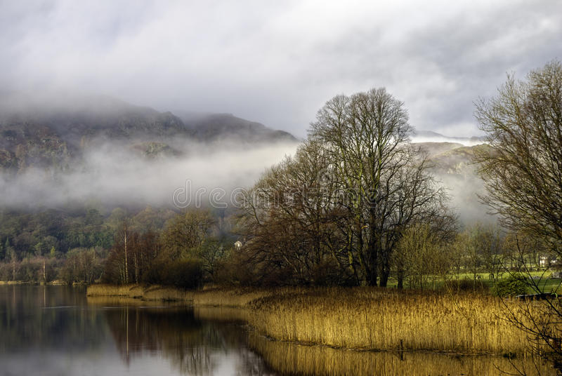 Download Grasmere lake stock photo. Image of mountains, park, trees - 12445126
