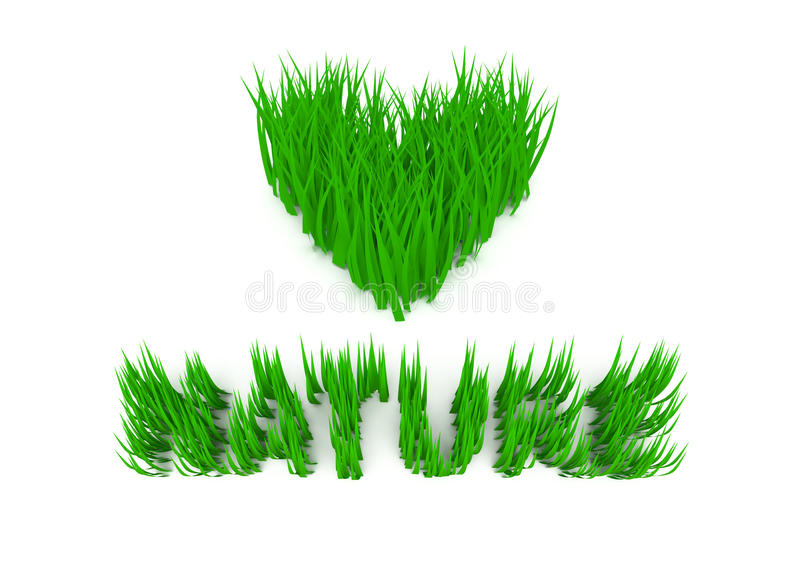 Download Grass stock illustration. Image of heart, objects, form - 13697553