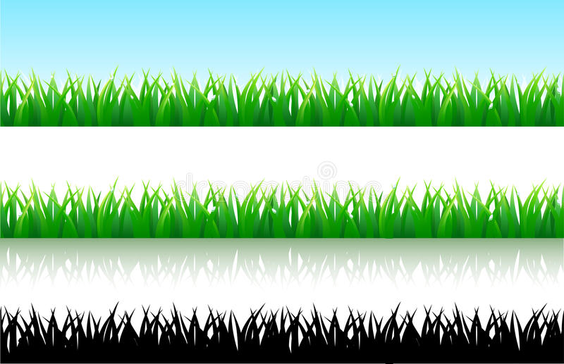 Download Grass background stock illustration. Image of lawn, spring - 14609889