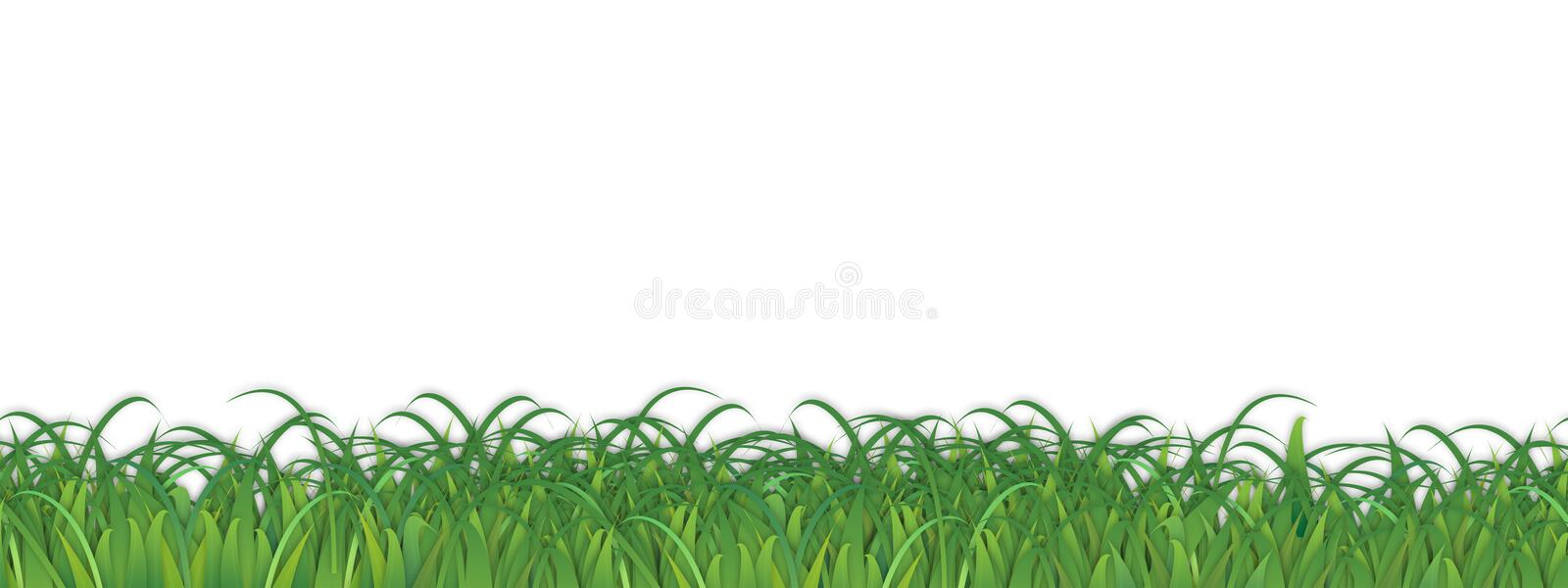 Grass Background Weeds Vector vector illustration