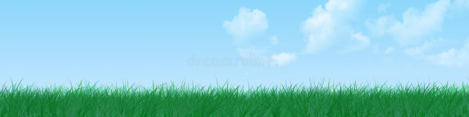 Download Grass banner stock photo. Image of space, banner, horizon - 3670166