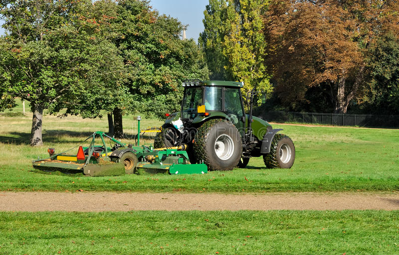 Grass Cutting equipment stock photography