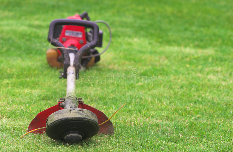 Download Grass cutting tool stock image. Image of machinery, strimmer - 2096205