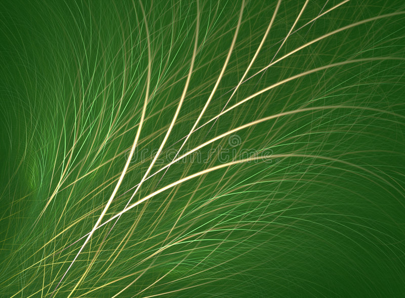 Grass/Fescue. Fractal rendering resembling grass or fescue royalty free stock photography