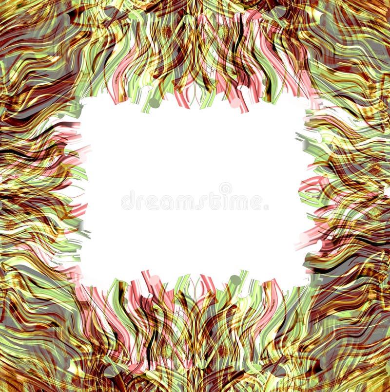 Grass frame 2 vector illustration