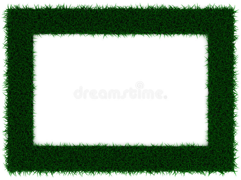 Download Grass Frame stock illustration. Image of color, dimensional - 20701907