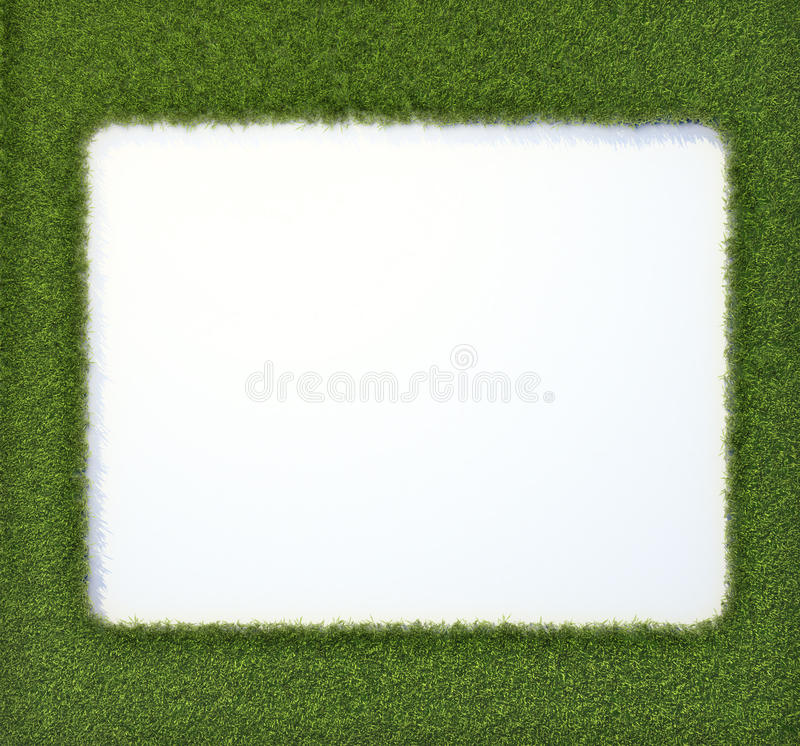 Grass Frame Royalty Free Stock Photography
