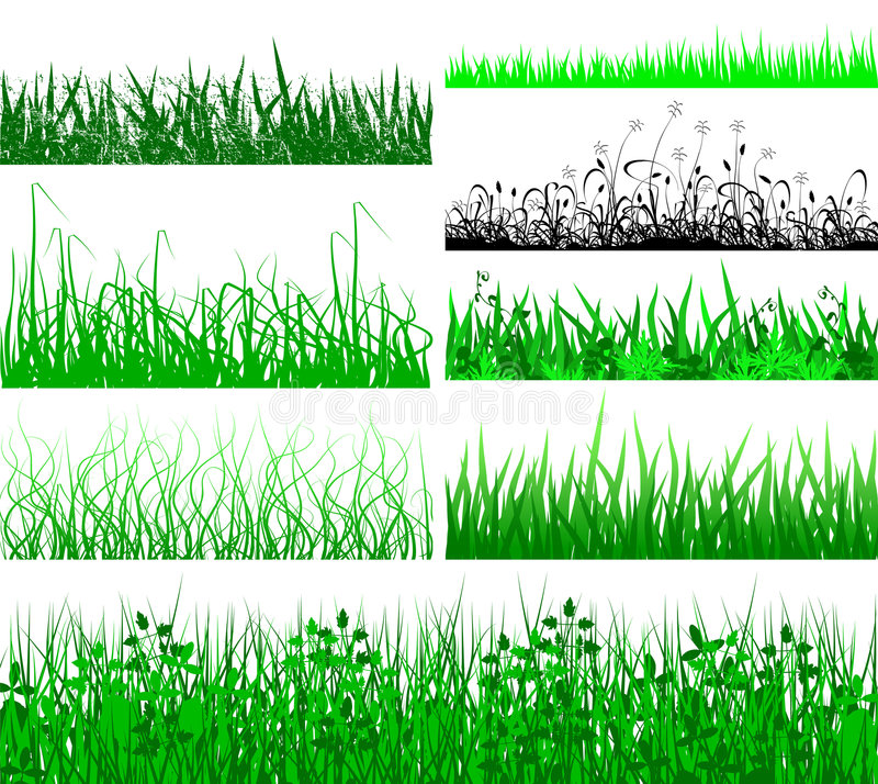 Free Grass Fringes Royalty Free Stock Image - 2785676