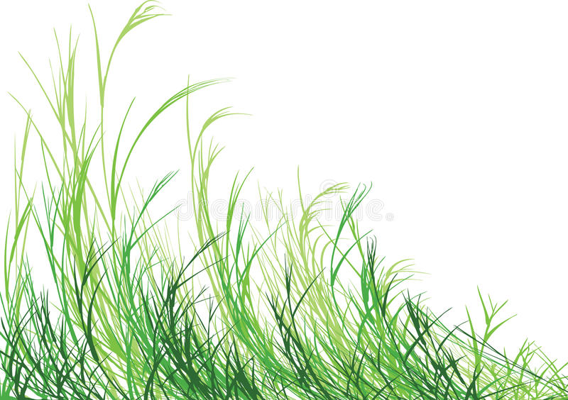 Grass is Greener royalty free illustration