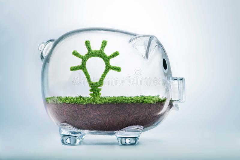 Growing idea investment concept stock photos